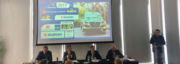 Presentación Rally CAM RACE 2017