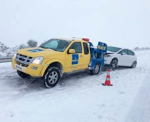 Consejos conducir nieve