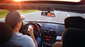 Denunciar infracciones de una conducción temeraria