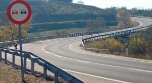 Tramos de riesgo en carreteras RACE