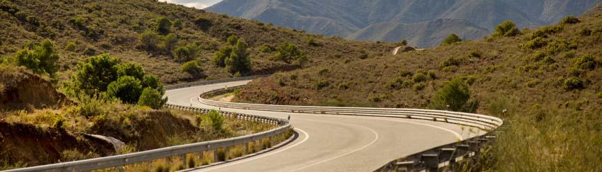 perfil carretera de riesgo