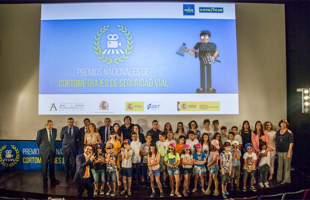 VI Edición Premios Nacionales Cortometrajes Educación Vial