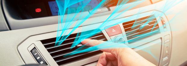 Recarga del aire acondicionado del coche