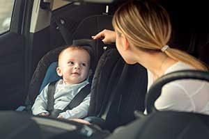 Calor en el coche del bebé