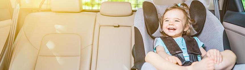 Viajar con niños en coche en verano