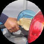 Gasolina en un motor Diésel