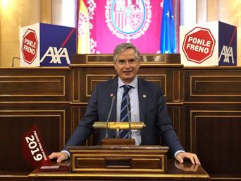 Carmelo Sanz en el Congreso