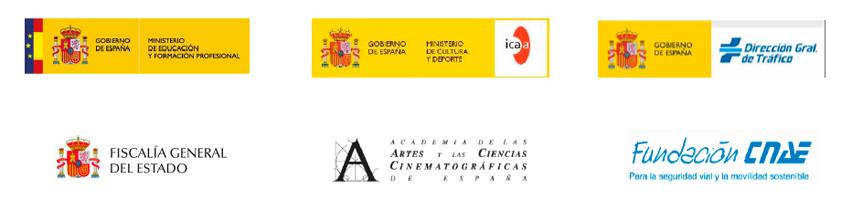 Colaboradores Premios Cortometrajes Educacióm Vial