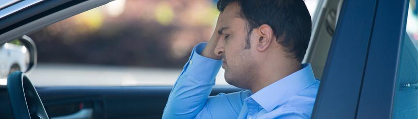 Distracciones mentales de conductores
