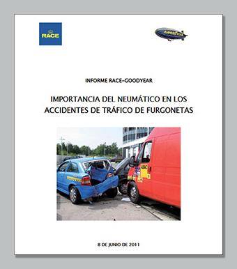 Accidente furgonetas