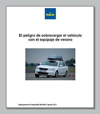 Peligro sobrecarga vehículo