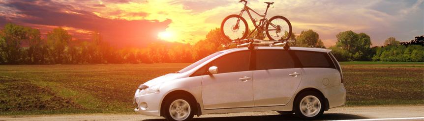 Transporte bicicleta en vehículo