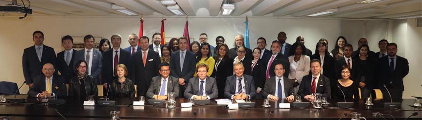 Alcalde recibe a Delegación CIFAL Global Network