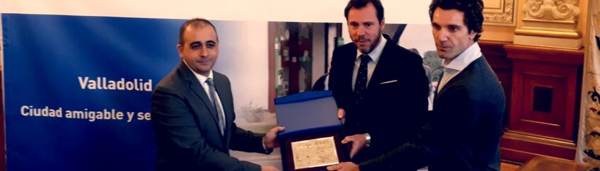 Valladolid recibe sello Ciudad amigable y segura