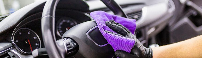 Desinfectar interior coche