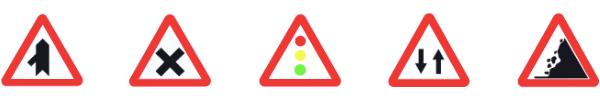 Señales advertencia peligro