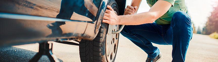 Reparación neumáticos ante pinchazo