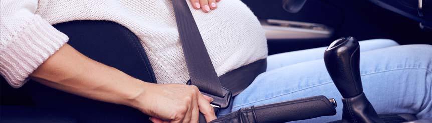 cinturón de seguridad mujeres embarazadas