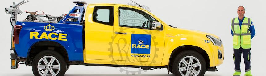 Vehículo asistencia del RACE