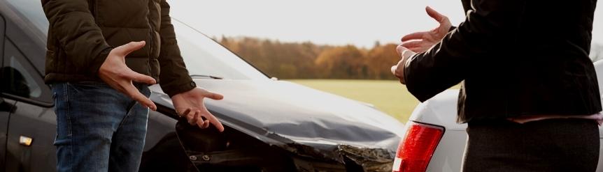 Quién tiene la culpa en un accidente de coche