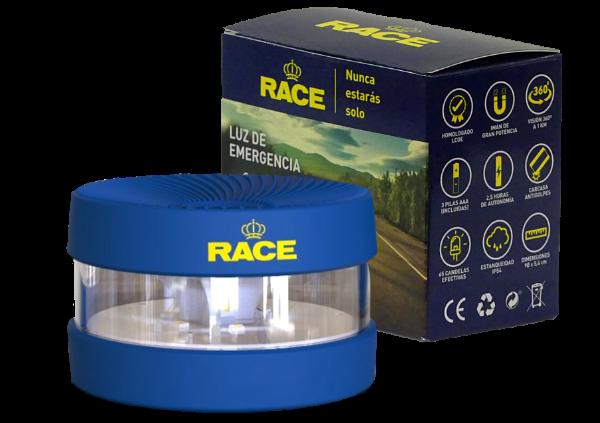 Luz de emergencia V16 RACE