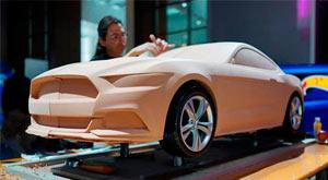 Mustang de arcilla