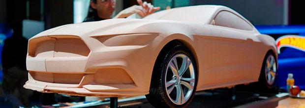Mustang de arcilla portada
