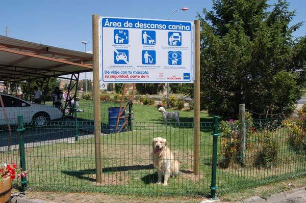 Áreas de descanso caninas