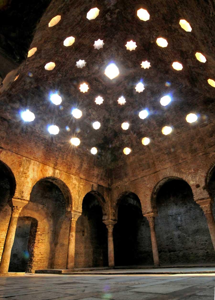 Baño Turco Arquitectura:Baños árabes el Bañuelo
